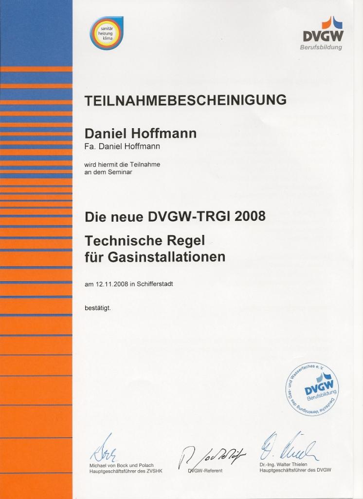 DVGW-TRGI 2008
